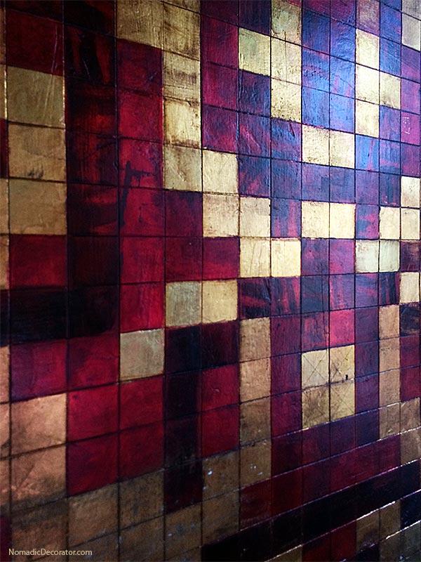 Hand Painted Walls in Mayan Airbnb San Miguel de Allende
