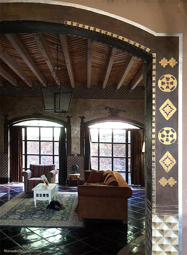 Living Room The Mayan Airbnb San Miguel de Allende