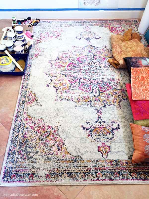 India Guest Bedroom Rug