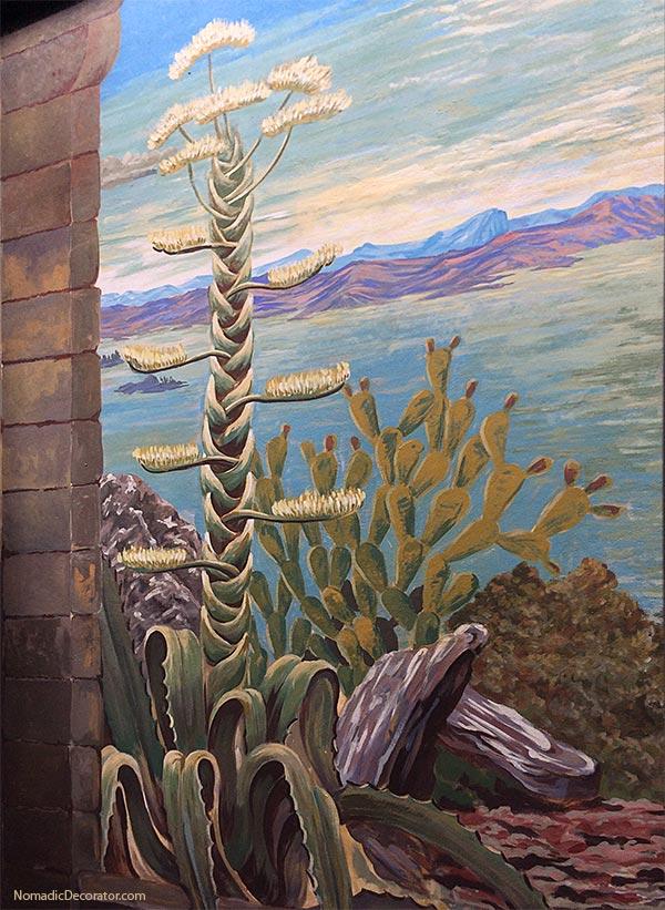 Agave Cactus Mayan Airbnb San Miguel de Allende