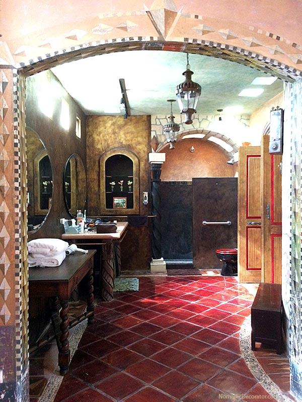 Bathroom The Mayan Airbnb San Miguel de Allende