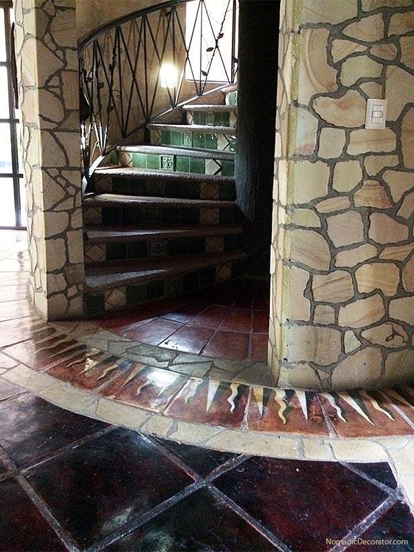 Circular Staircase Turret The Mayan Airbnb San Miguel de Allende