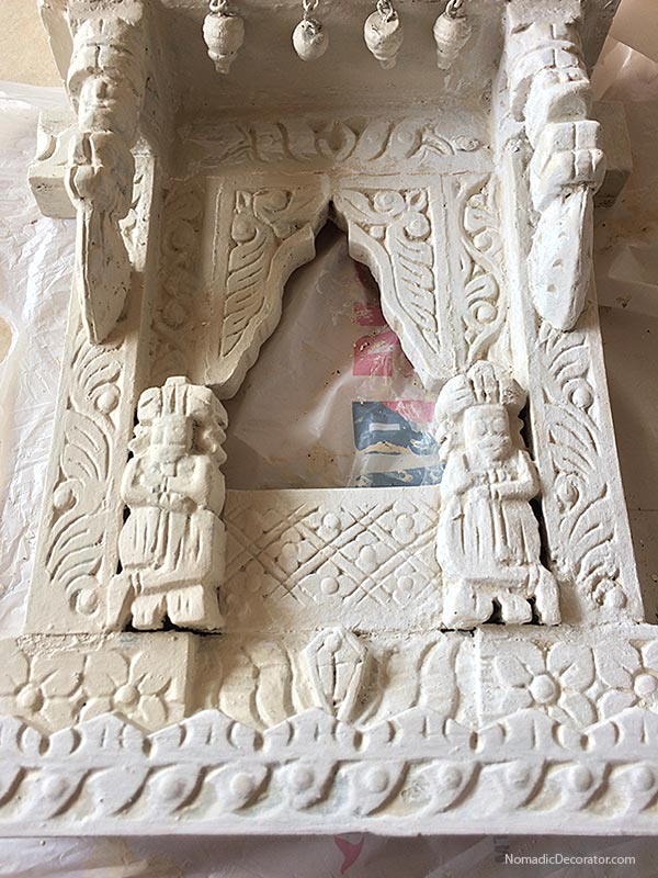 White Painted Jharokha